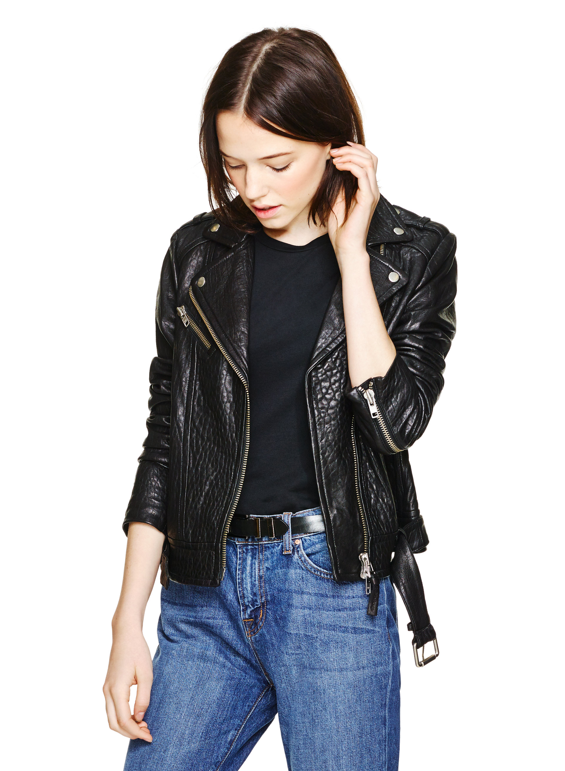 690 Aritzia Mackage Rumer Leather Jacket
