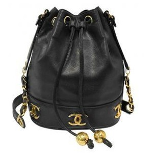 Chanel classic flap bag drawstring bucket bag backpack Lust4label 1